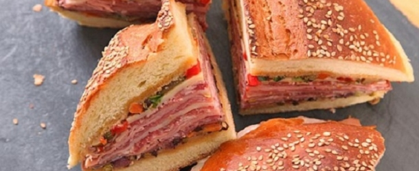Tastee recipe new orleans food archives tastee recipe it may not be as famous as the poboy but this new orleans muffuletta sandwich is just as yummy and just as quintessentially big easy forumfinder Image collections