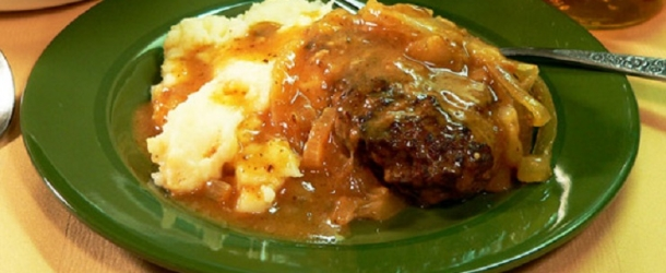 Tastee recipe salisbury steak archives tastee recipe if you want some fairly quick and easy southern comfort food for your dinner this salisbury steak recipe is a good choice it comes with a delicious gravy forumfinder