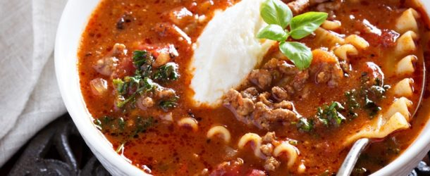 6 hearty dinner recipes lasagna soup