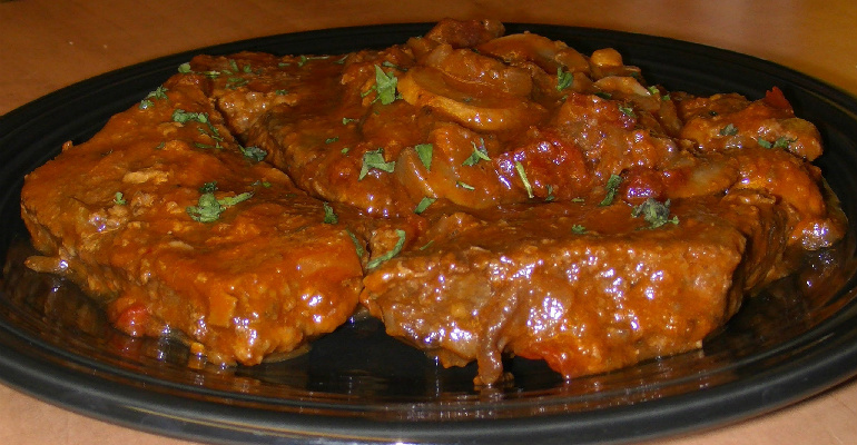 Tastee Recipe Stupid Easy Slow Cooker Swiss Steak It