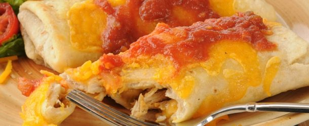 30 minute recipes chicken chimichangas