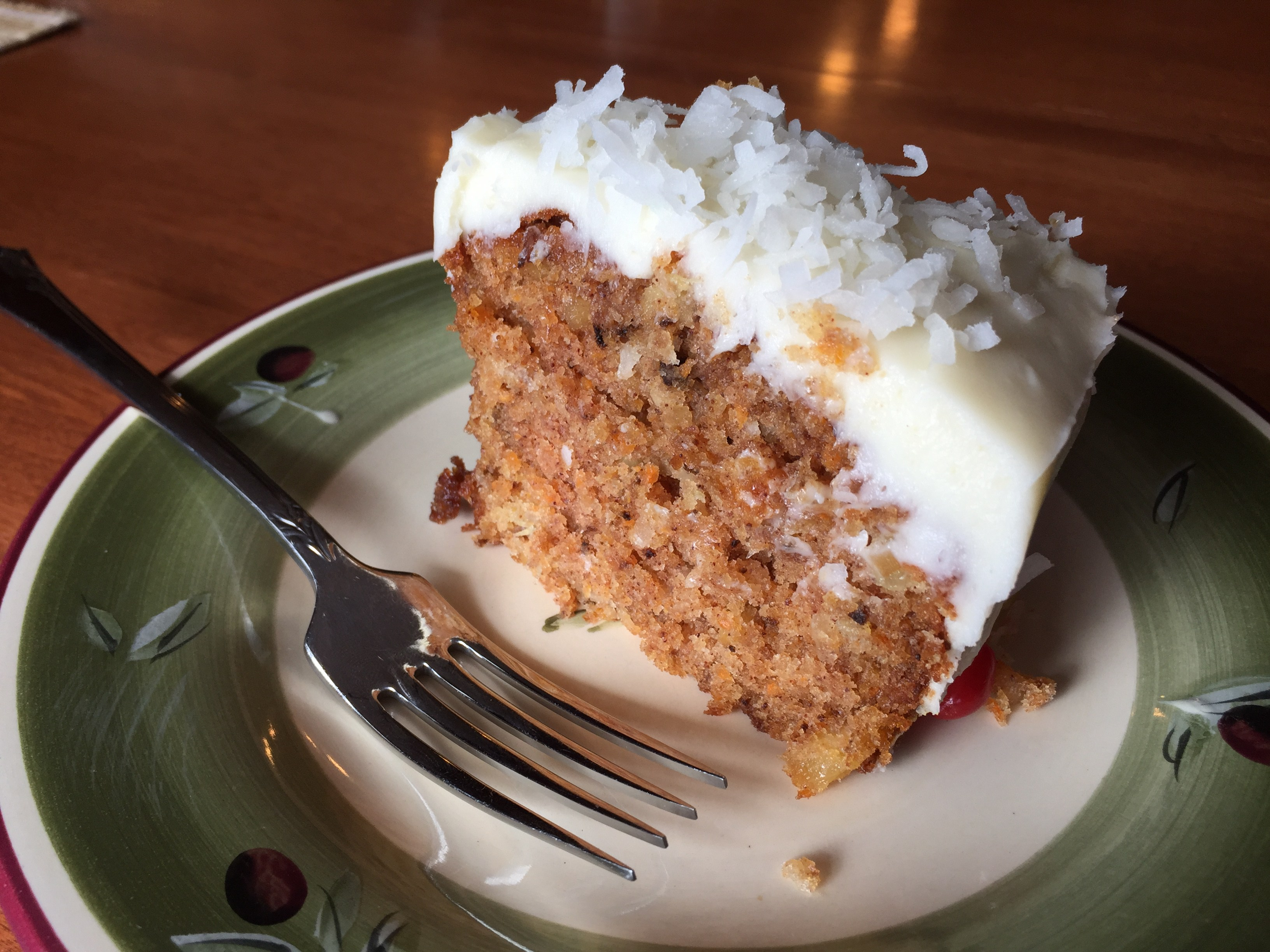 Wesson Oil Carrot Cake