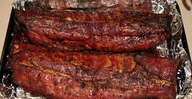 Tastee Recipe Apple Butter Bbq Baby Back Ribs They Re