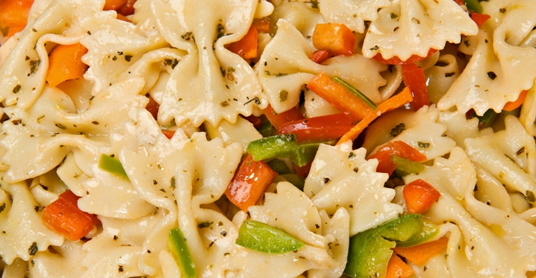 Tastee Recipe Bow Tie Pasta Salad A Recipe Everyone