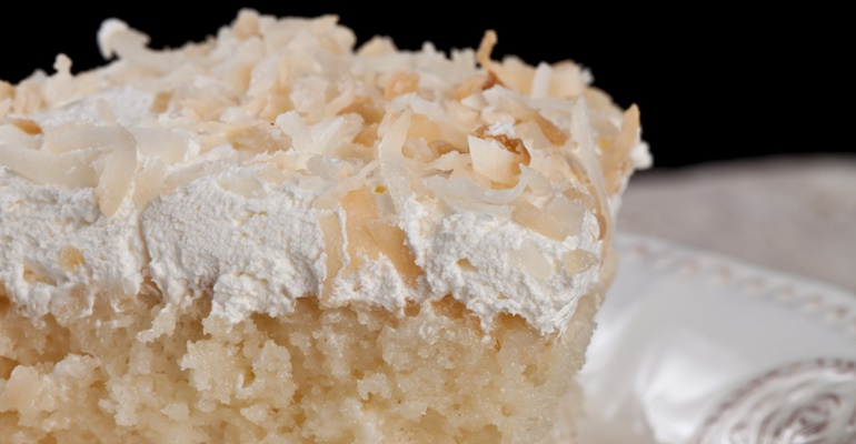 How To Make Sour Cream Coconut Cake From Scratch
