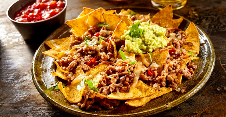 Tastee Recipe What Makes These Nachos Extra Special Is The