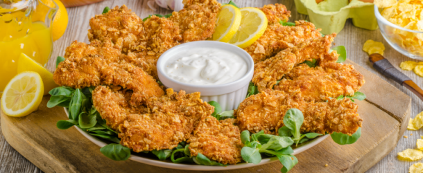 Tastee Recipe Homemade Chicken Tenders Forget The Stop At The Fast