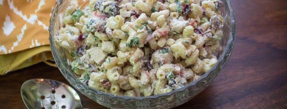 creamy chicken macaroni salad