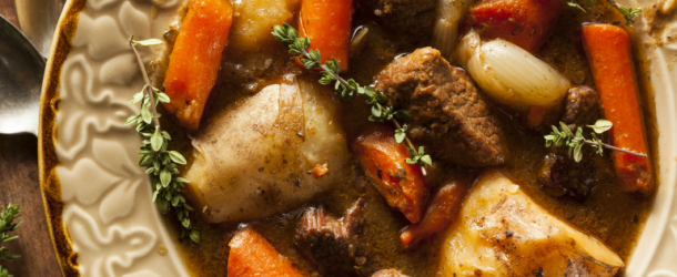 Guinness stout Irish stew